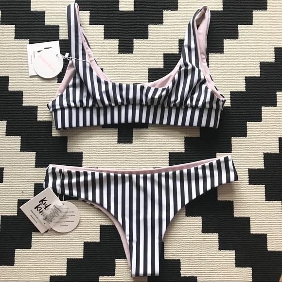 910ea675b8f Kulanis kinis Swim | Kulani Kinis Nude Zebra Bikini Set | Poshmark
